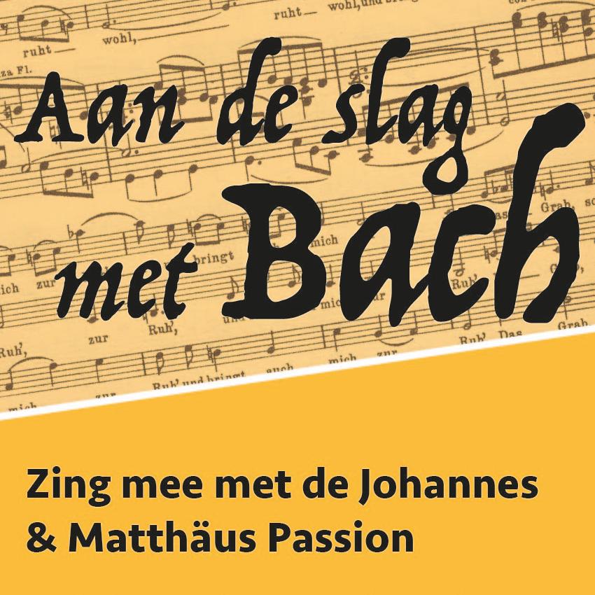 Aan de slag met Bach