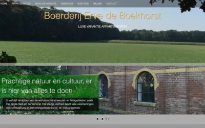 Op vakantie bij Boerderij Erve de Boekhorst