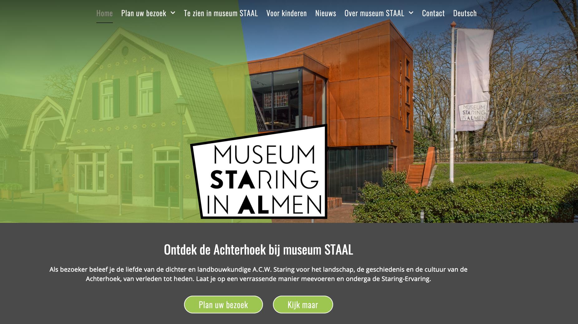 museumstaal.nl door voor pUbliek