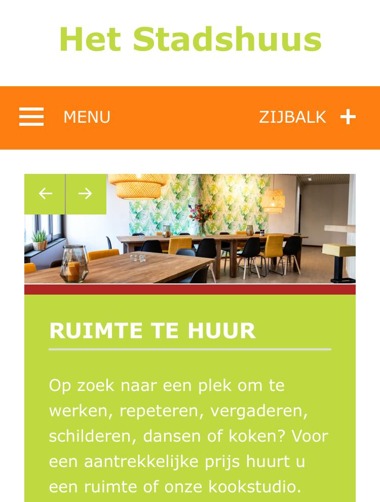 Website Stadshuus
